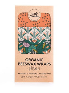 CaliWoods Beeswax Wraps - Forest