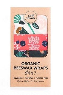 CaliWoods Beeswax Wraps - Tropical