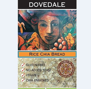 Dovedale Rice Chia Bread