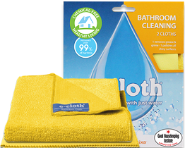 e-cloth Bathroom Pack - 2 Cloths