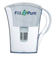 Fill2Pure Mini pH ALKALINE Water Filter Jug (750mls)