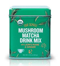 Four Sigmatic Mushroom Matcha Drink Mix with Lion's Mane