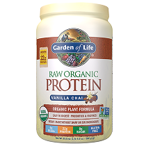 Garden of Life Raw Organic Protein Powder Vanilla Chai 580gm