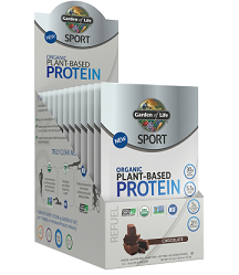 SPORT Organic Plant-Based Protein Chocolate 33gm Sachet