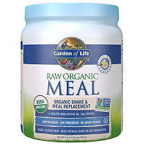 Garden of Life Raw Organic Meal Shake & Meal Replacement Vanilla 484gm