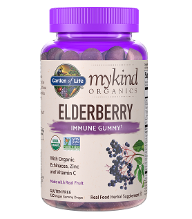 mykind Organics Elderberry 120 Gummies