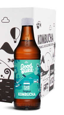 Good Buzz Kombucha Origins 328ml
