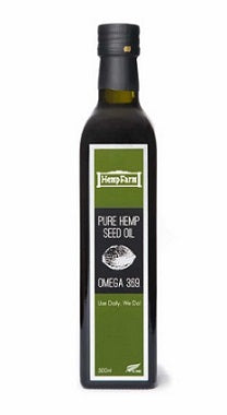 The Hemp Farm Pure Hemp Seed Oil 500ml