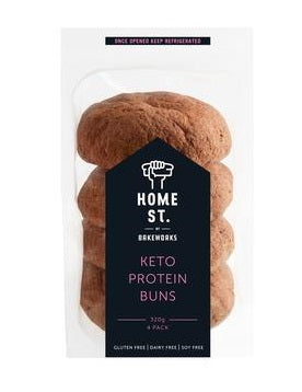 Home St. Keto Protein Buns 4 Pack *NEW*