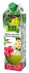 King Island 100% Pure Coconut Water - 1 L
