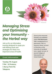 KIWIHERB - Managing Stress and Optimising your Immuntiy - the Herbal way