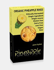 Kokonati Organic Dried Pineapple Rings 100gm