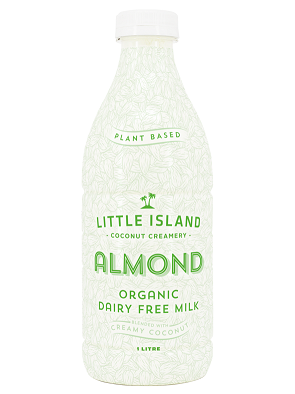 Little Island Coconut Creamery Almond Milk 1lt