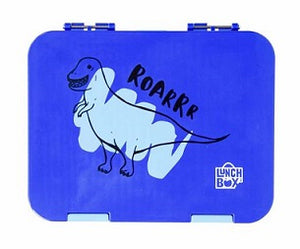Lunch Box Inc. Dinosaur Kiwibox 2.0 Bento Lunchbox For Kids