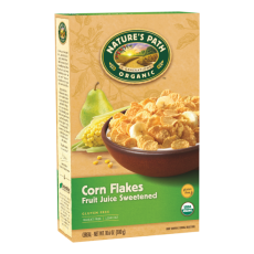 Nature's Path Corn Flakes Cereal - fruit juice sweetened