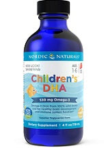 Nordic Naturals Omega-3 Fish Oils  Children's DHA