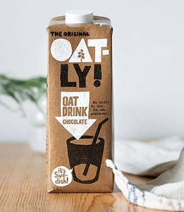 Oatly Oat Milk Chocolate 1lt - 2x1lt