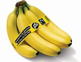 Fruit - Fair Trade Ecuador Bananas Fumigated - Bunch