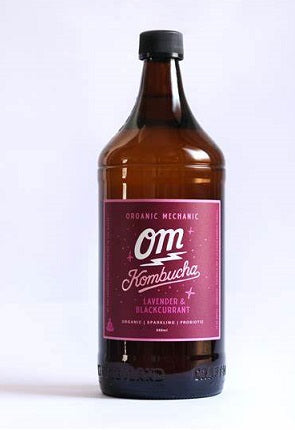 Organic Mechanic Kombucha Lavender & Blackcurrant 750ml