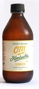 Organic Mechanic Kombucha Classic Ginger 300ml