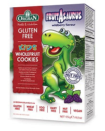 Orgran Kids Fruitasaurus Wholefruit Cookies