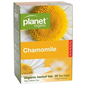 Planet Organic Chamomile Herbal Tea 25tbags