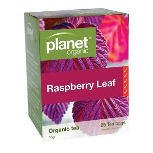 Planet Organic Raspberry Tea 25tbags