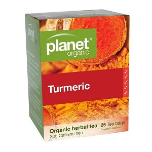 Planet Organic Tumeric Tea 25tbags