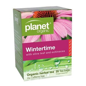 Planet Organic Wintertime Tea 25tbags