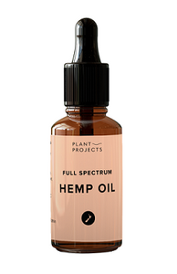 Full Spectrum Hemp Oil by Plant Projects