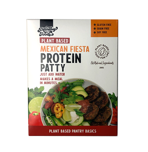 Plantasy Foods Protein Patty Mix - Mexican Fiesta
