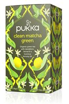 Pukka Tea Clean Matcha Green 20tbags