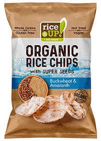 Rice Up Organic Rice Chips Buckwheat & Amaranth