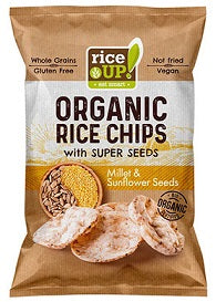 Rice Up Organic Rice Chips Millet & Sunflower