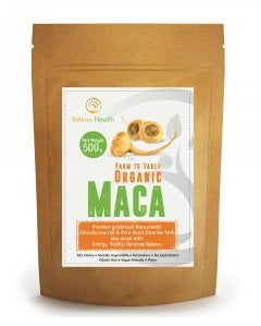 Seleno Health Organic Activated Yellow Maca 500gm