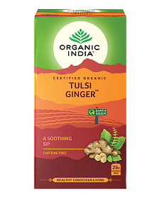 Organic India Tulsi Ginger 25tbags