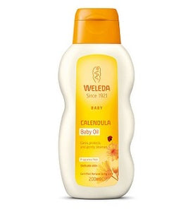 Weleda Calendula Baby Oil - Fragrance Free 200ml