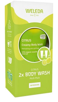 Weleda Body Wash Citrus Multi-Pack (save $16.80)