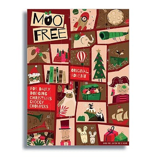 Moo Free Advent Calendar Milk Chocolate