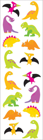 Chubby Dinosaurs Stickers