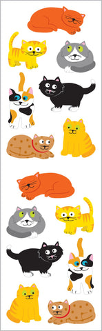 Chubby Cats Stickers