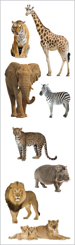 Wild Animals  Stickers