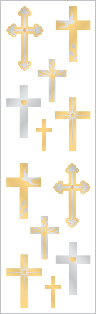 Crosses Stickers