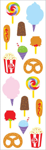 Carnival Food Stickers