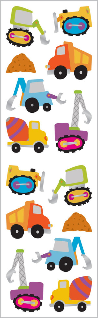 Chubby Construction Stickers
