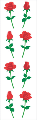Small Roses Stickers
