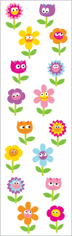 Chubby Flowers Stickers