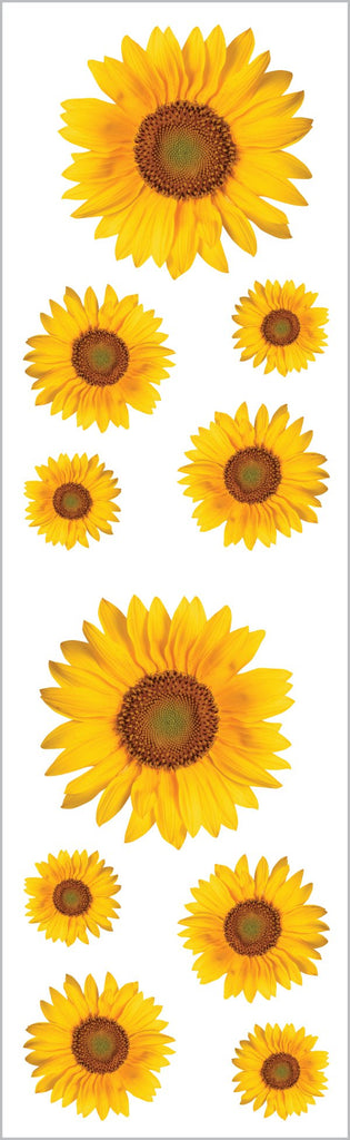 Sunflowers Stickers