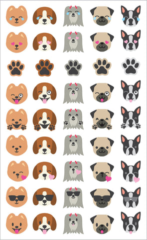 Dog Emotions Stickers
