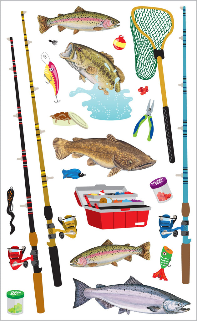 Fishing Stickers